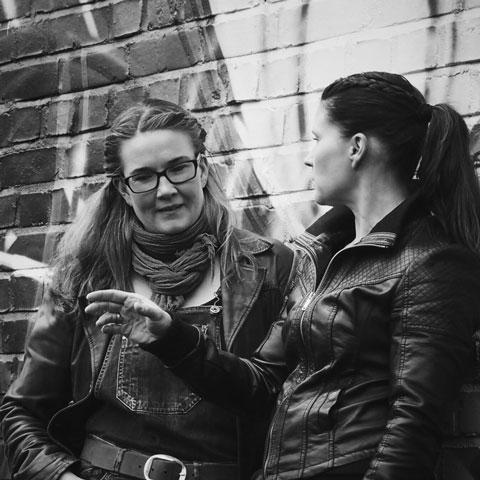 OmaKiertotie Susanna Salmi ja Paula Järnbäck